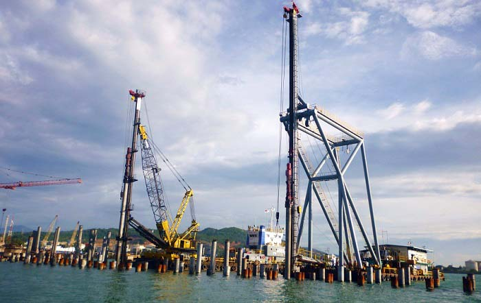 Pipe Pile Supply for PT. Swi Jetty Nusantara